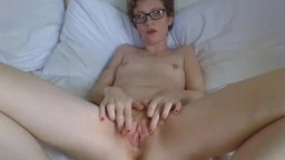 Petite ginger candy getting super wet and making you cum