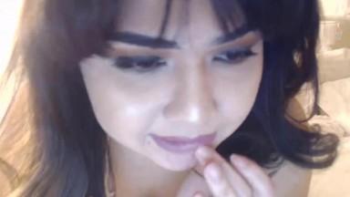 Sensual Hispanic Goddess Paulina Sol drains ur balls dry