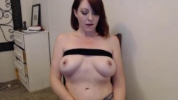 Redhead housewife Snapps with insatiable sexual appetite