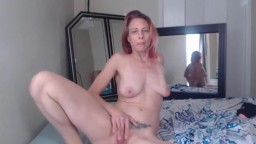 Dirty dark haired MILF Kay ready to fuck and cum for you