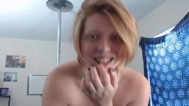 Switch curvy redhead Venus Valkyire with immense titties