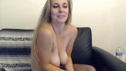 Blue eyed angel Harper Haize with sexy voice and big tits