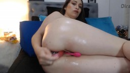 Cute Luiciana Watson who loves to give joy in both holes