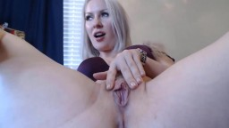 Flexible muscular blonde queen porn star Sydney Paige