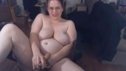 Friendly redhead mature BBW Kalista with huge boobs