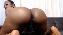Chocolate Ms Princess with immense tits and amazing ass