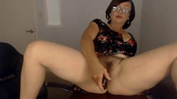 Spunky slut mother Jane with bushy pussy into role play