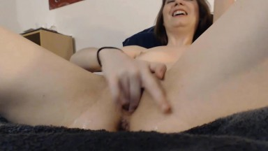 Tiny beauty Lana excellent at deep throating and squirting