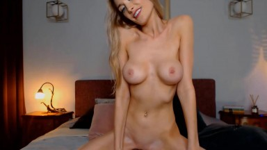 Flexible charming Ana gets fucked a tight dripping pussy