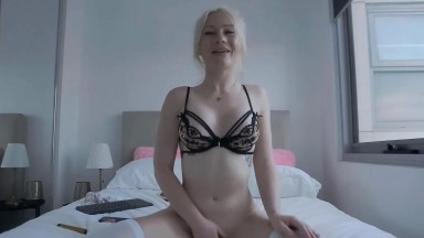 Slender student Billie gets fucked a tight dripping pussy