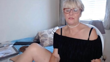 Married mature blonde Emily loves ride you until you cum