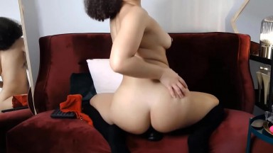 Hot black babe Kaia you will get whatever you desire for