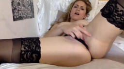 Excited hot beauty Bendy teasing you while masturbates
