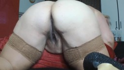 Hot mature pale BBW vixen fulfills all your bawdy desires